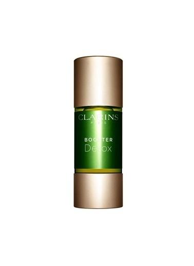 Clarins Clarins Tüm Ciltler İçin Bakım Serumu - Detox Booster 15 ml Renksiz